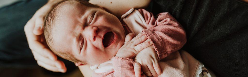 Babyfoto Neugeborenes Farbfoto Essen